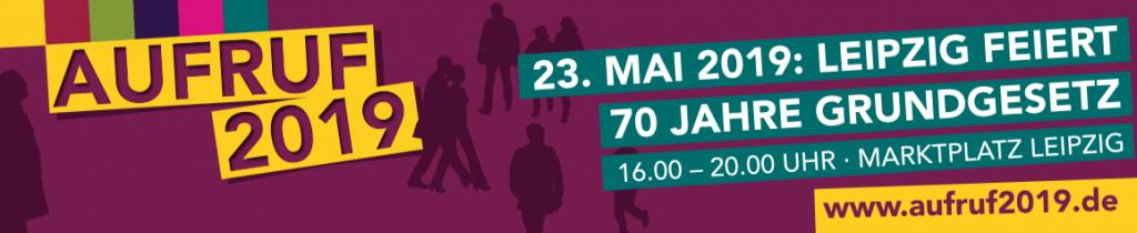 Aufruf 2019 - Veranstaltung am 23.05.2019