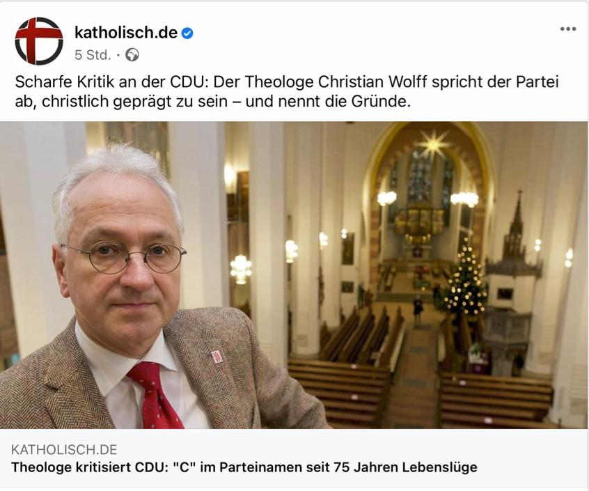 Tweet von @katholisch.de